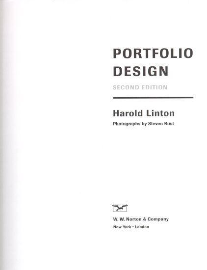 simple portfolio cover