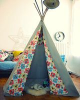 Tipi Tutorial - Things to Make and Do, Crafts and Activities for Kids - The Crafty Crow