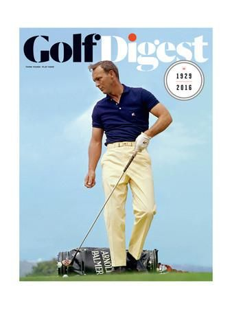 Golf Digest Cover - November 2016 Regular Giclee Print by Lester Nehamkin at Art.com