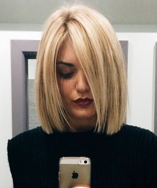 20+ Breathtaking Shoulder Length Blunt Bob Hairstyles for ...