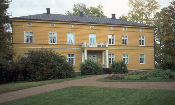 Anjalan kartano - Anjala manor is located in city of Kouvola. Owned by the state and governed by the Museum authorities, but what is the situation now is unclear. Can be in youth use.
