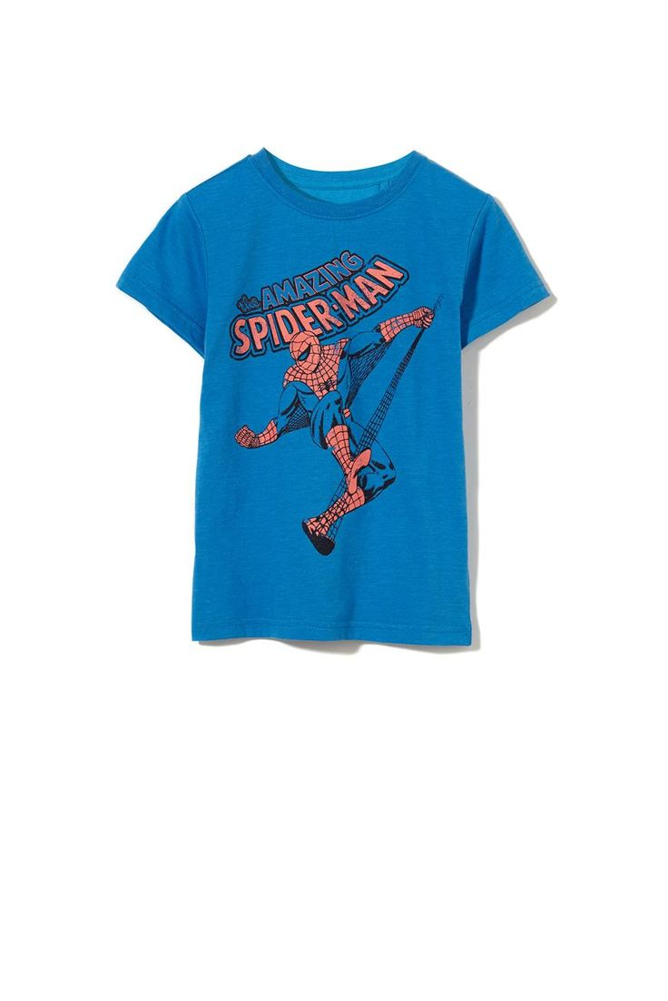 s/s licence tee, BRILLIANT BLUE/SPIDERMAN