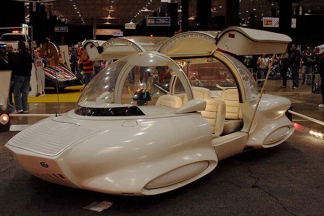 The Sleeper Car -   Built by Gene Winfield for the 1973 Woody Allen film Sleeper.