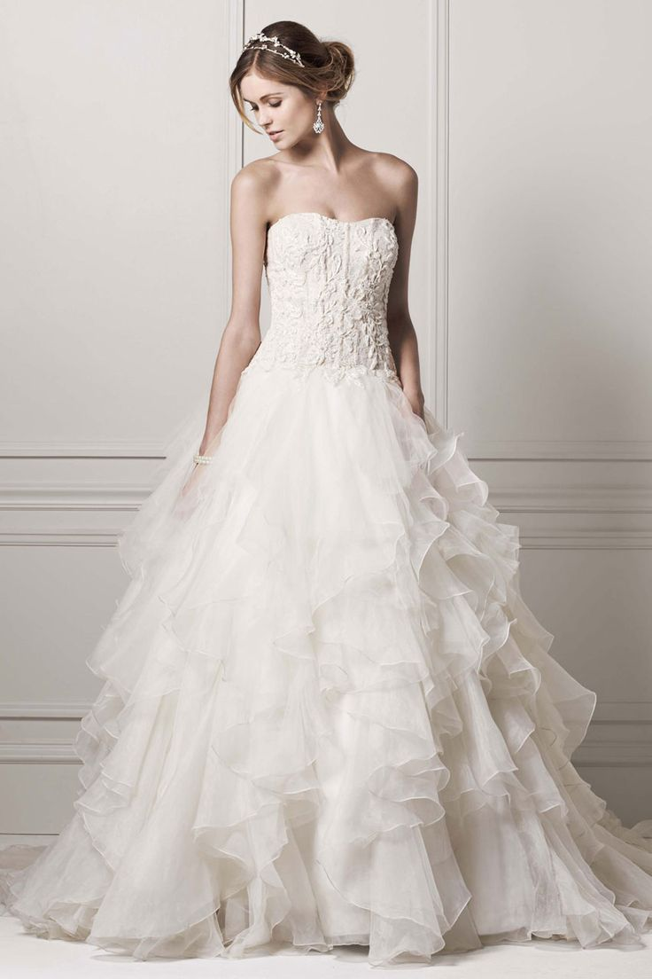 25 best ideas about oleg cassini wedding gowns on