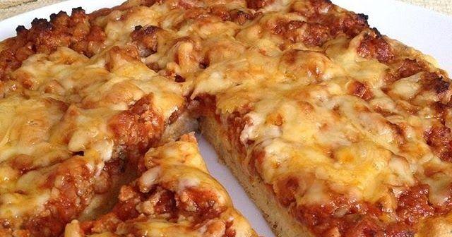 Diétás, szénhidrátmentes paleo pizza recept  (gluténmentes, maglisztmentes, keményítőmentes paleo)