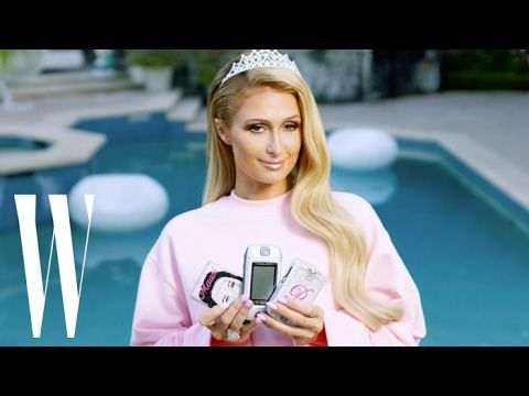 Paris Hilton Breaks Down Her Favorite 2000s Trends | W magazine - YouTube