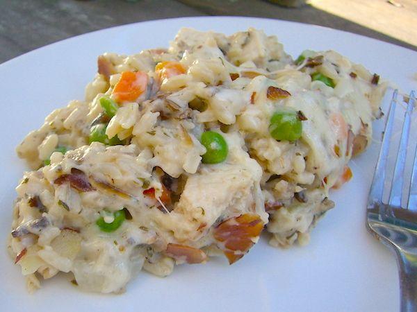 Wild Rice and Chicken Casserole