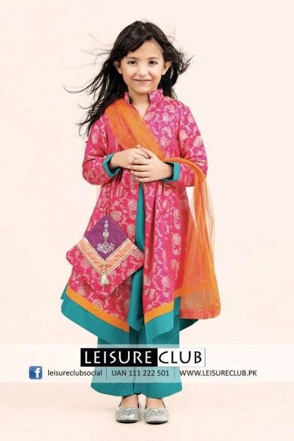 Leisure Club Latest Eid ul Adha Dress Collection 2012 For Kids (1)