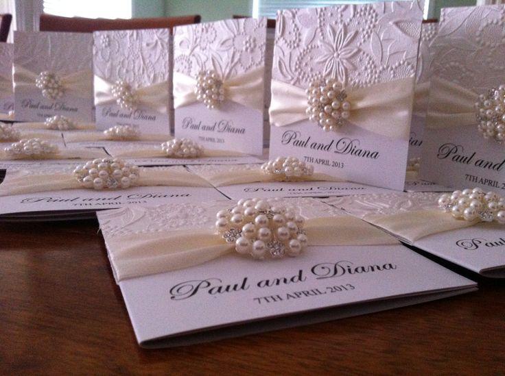 Pearl Weding Invitations 030 - Pearl Weding Invitations