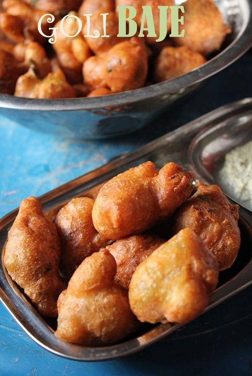 YUMMY TUMMY: Goli Baje Recipe / Mangalore Bajji Recipe / Bajji with Getti Chutney