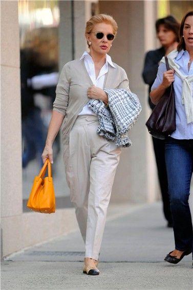 Carolina Herrera, la madurez no está reñida con el estilo