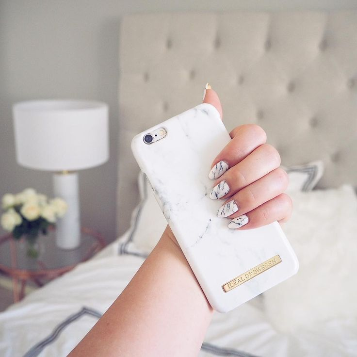 White Marble by lovely @anettemilia - Fashion case phone cases iphone inspiration iDeal of Sweden #marble #gold #fashion #inspo #iphone #marmor