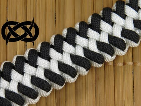 How to make an Orca Jaw Bone Paracord Bracelet - YouTube
