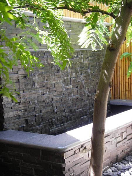 Norstone Charcoal Rock Panels Water Feature