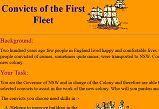 British colonisation of Australia activity sheets
