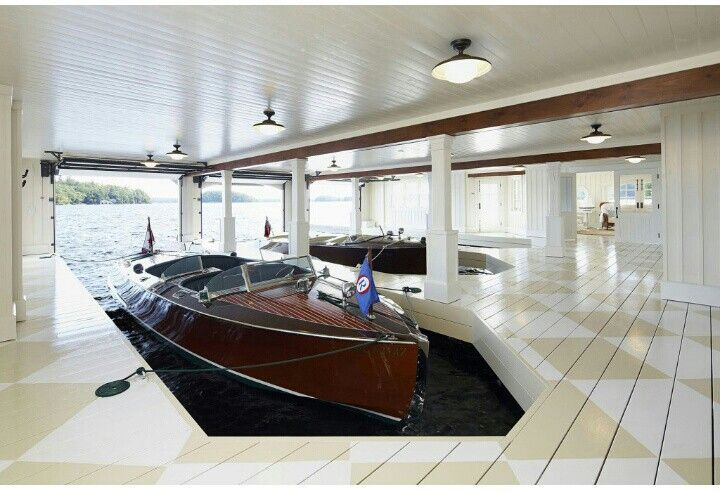 16 best shiplap coffered ceilings images on pinterest for Boat garages
