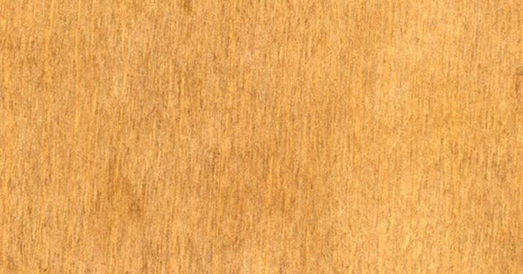 Como substituir o tampo de mesa de lâmina de madeira. Os móveis fabricados com madeiras compensada, de lei e de baixo grau utilizam a lâmina de madeira para cobrir sua base. Essas lâminas estão disponíveis em muitas opções de cores de madeira, como cerejeira, carvalho e mogno. Elas oferecem um visual dessas madeiras caras ao móvel, mas sem a despesa. A cola fixa a lâmina de madeira no lugar, mas, ao ...