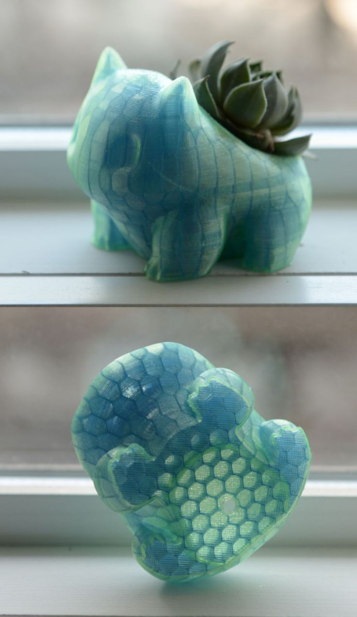 Shiny Bulbasaur Planter