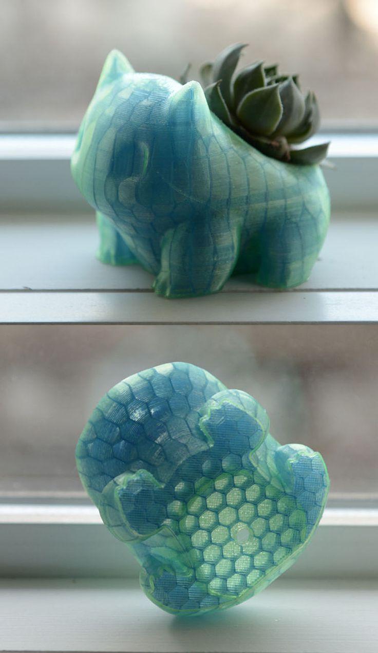 Shiny Bulbasaur Planter