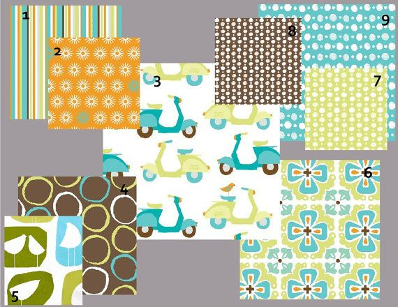 17 best images about scooters on pinterest for Boy nursery fabric