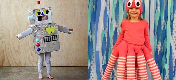 Τις φετινές απόκριες μην τρέξετε στα μαγαζιά ψάχνοντας με το παιδί την τέλεια στολή. Φτιάξτε την παρέα με το παιδί, με απλά υλικά, βάζοντας φαντασία και μεράκι!
