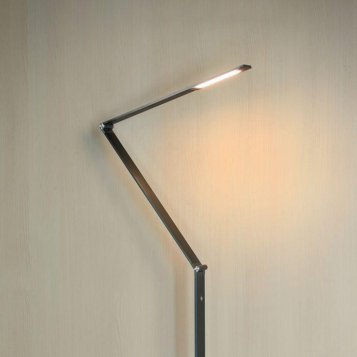 Imposante LED-Stehleuchte Flatt dimmbar, grau Jetzt bestellen unter: https://moebel.ladendirekt.de/lampen/stehlampen/standleuchten/?uid=19776d43-3da7-5636-b870-00104539abd2&utm_source=pinterest&utm_medium=pin&utm_campaign=boards #stehlampen #leuchten #lampen Bild Quelle: www.lampenwelt.de