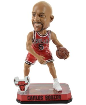 Forever Collectibles Carlos Boozer Chicago Bulls Bobble Figurine - Red