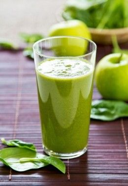 Smoothie Recipes for Weight Loss and Energy | Spinach with Green apple Diet Smoothie