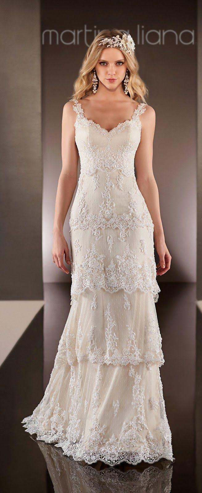 Martina Liana Spring 2015 Bridal Collection | bellethemagazine.com