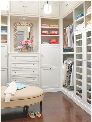 Closet ideas - luxurious closet dressing room