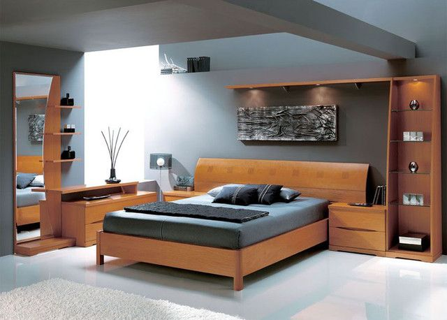 Shop modern bedroom furniture at LaFlat. We provide a large variety of elegant modern bedroom furniture that will ensure a good night's sleep. We have everything ranging from beds, bedside tables, dressers, bedding sets and much more to match your bedroom lighting design. Select from our diverse choice of brand names making your modern bedroom furniture set a trendy sanctuary.