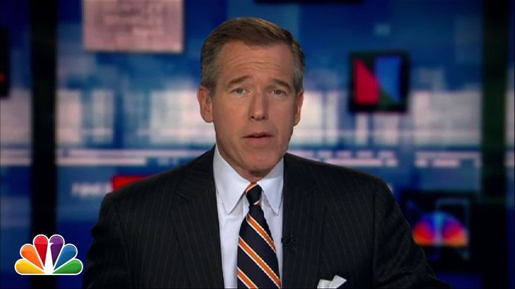 NBC News Anchor Brian Williams Sings the 1992 Song 'Baby Got Back' by Sir Mix-a-Lot