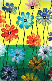 Peintures de fleurs