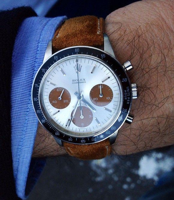 """Daytona - strap// Love Rolex"" --- Great looking watch."