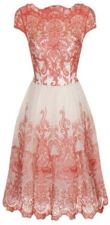 Chi Chi London šaty Annie, růžové