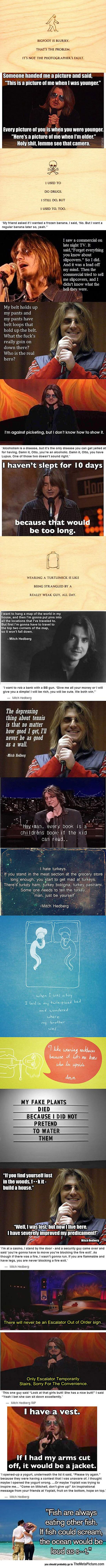 Mitch Hedberg Was Brilliant, RIP!