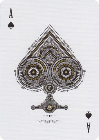 Ace of Spades from Believe Playing Cards