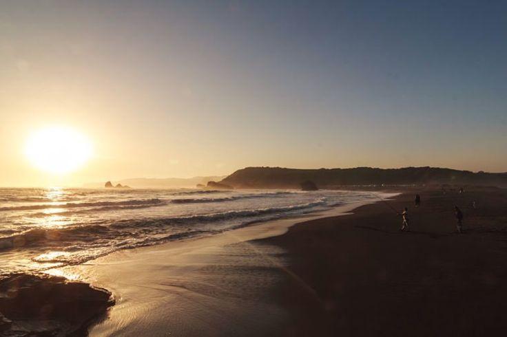 Boca Norte Hualpen more photos link in the description  #beach #sun #nature #water #ocean #lake #instagood #photooftheday #beautiful #sky #clouds #cloudporn #fun #pretty #sand #reflection #amazing #beauty #beautiful #shore #waterfoam #seashore #waves