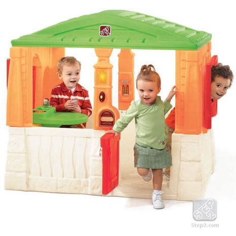 Jucarii de exterior :: Casute si spatii de joaca :: Casute pentru copii :: Casuta Neat & Tidy Active Brights STEP2