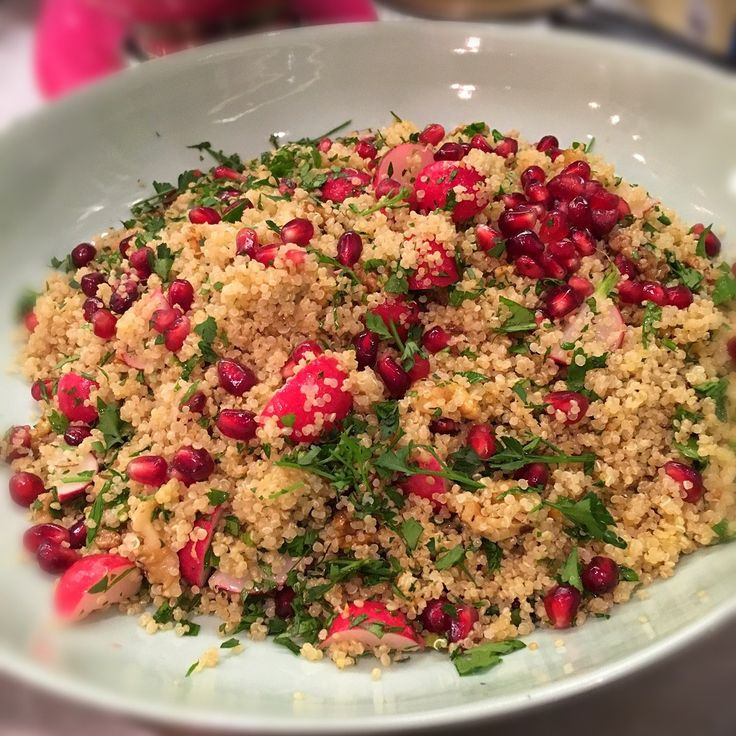 Image of Nigella's Quinoa Salad