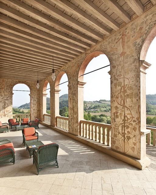 """Villa dei Vescovi, Luvigliano di Torreglia, Padova i nostri prodotti (azienda agricola Scarpon) si trovano nel bookshop della Villa """"museo""""."""