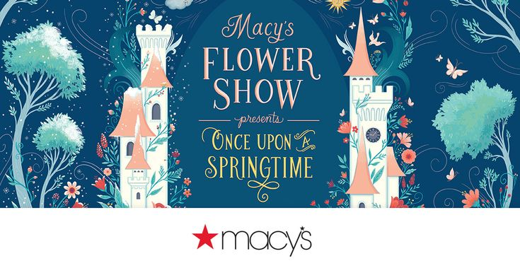 """This season's """"Once Upon a Springtime"""" show imagines an amazing world of wonder. Don't miss Macy's Flower Show this year in New York."""