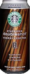 Starbucks Doubleshot Energy + Coffee 145mg CAFFEINE per 15 fl. oz can