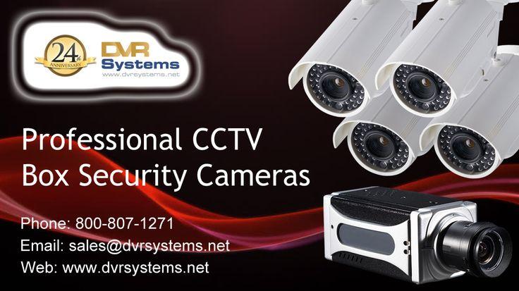 Professional CCTV Box Security Cameras @ http://goo.gl/Pgdz9R #BoxSecurityCameras