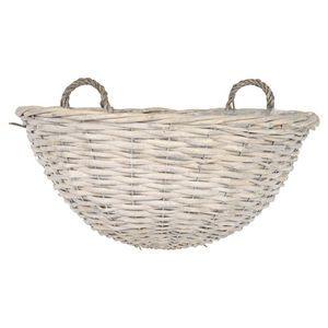 Garden Trend Willow Wall Basket 37cm