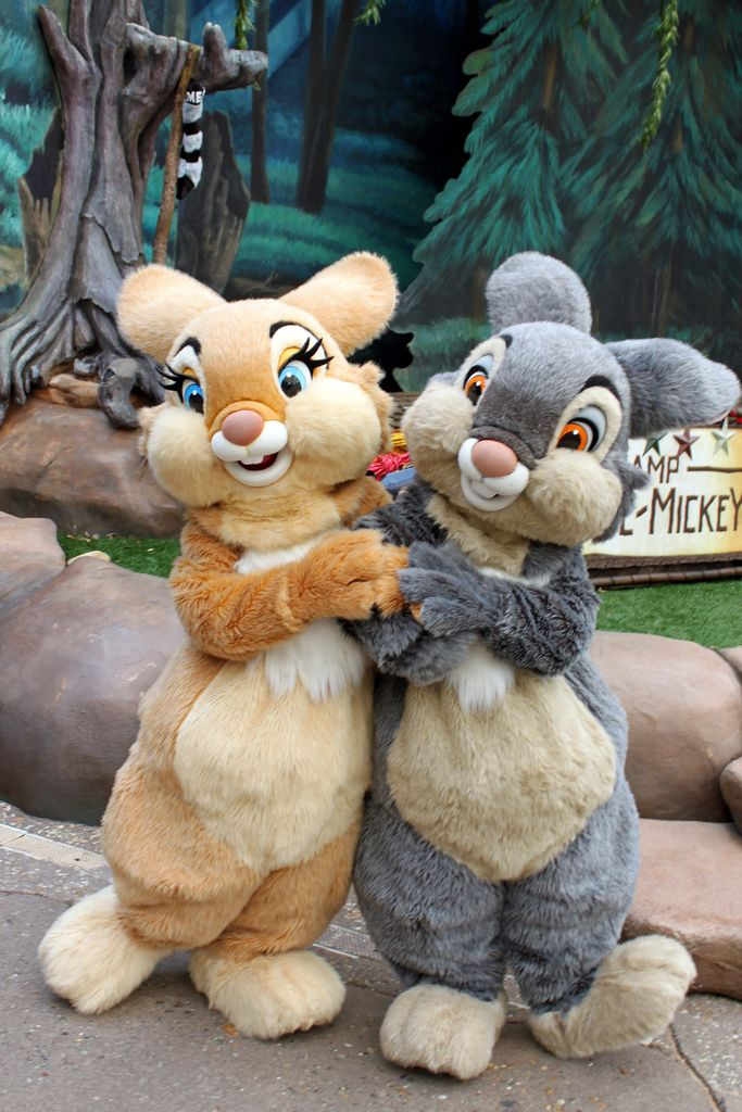 Thumper and Miss Bunny | Disney Characters | Walt disney ...