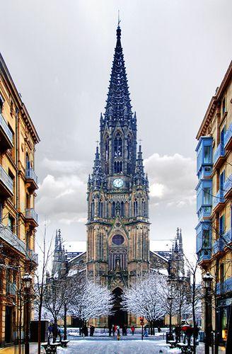 Buen Pastor cathedral,  Donostia/San Sebastian, Basque Country - Spain