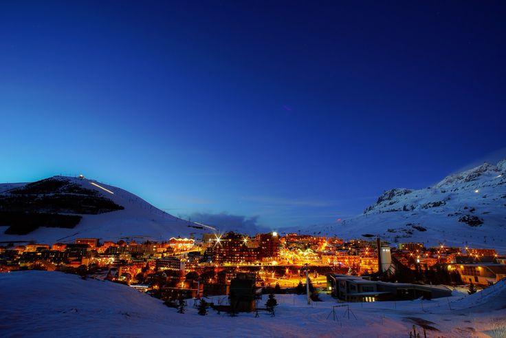Alpe d'Huez by night !