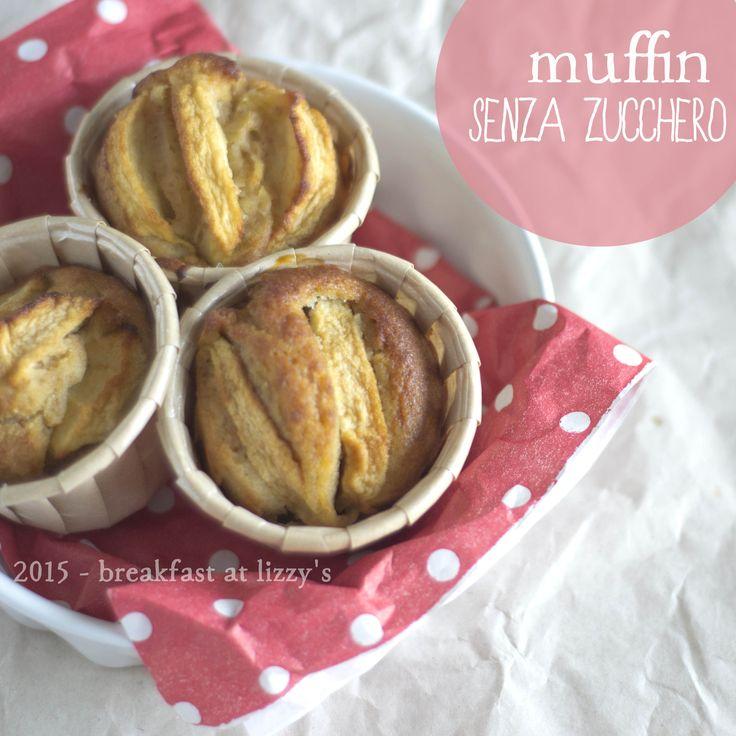 Muffin senza zucchero . Sugarfree muffins