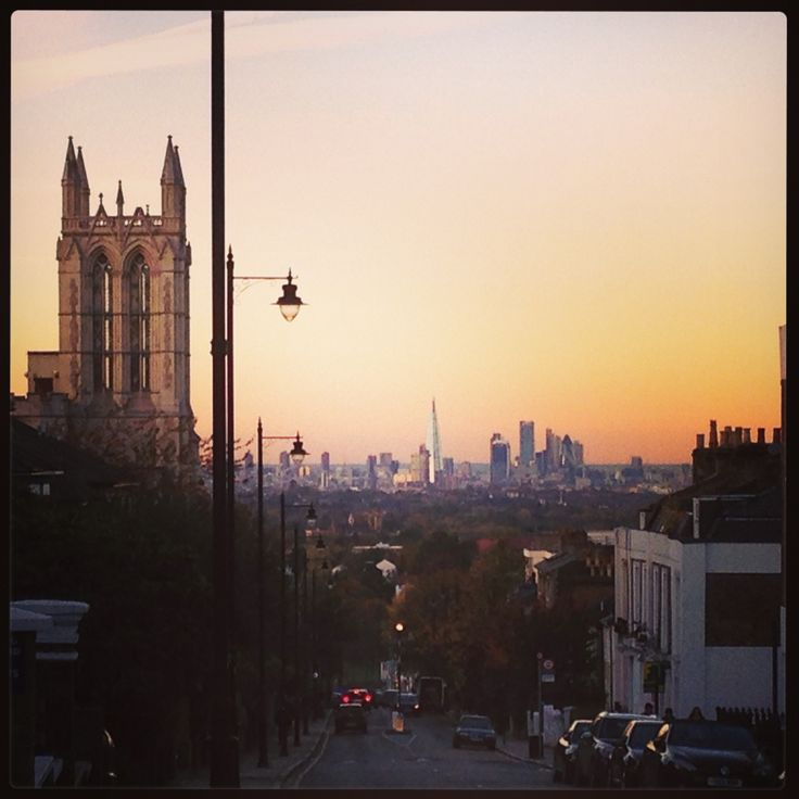 View from crystal palace